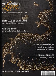 Art et Métiers du Livre n° 322 - Septembre/Octobre 2017