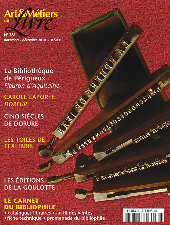 11e Salon International Du Livre Gourmand Art Et Metiers Du Livre N 281